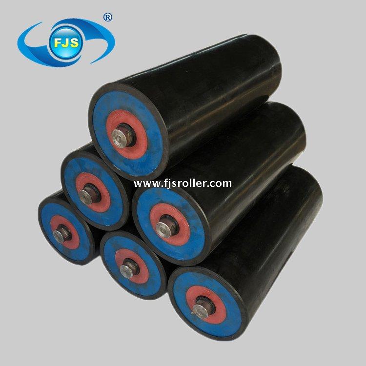 HDPE tube roller UHMWPE conveyor roller belt conveyor idler for