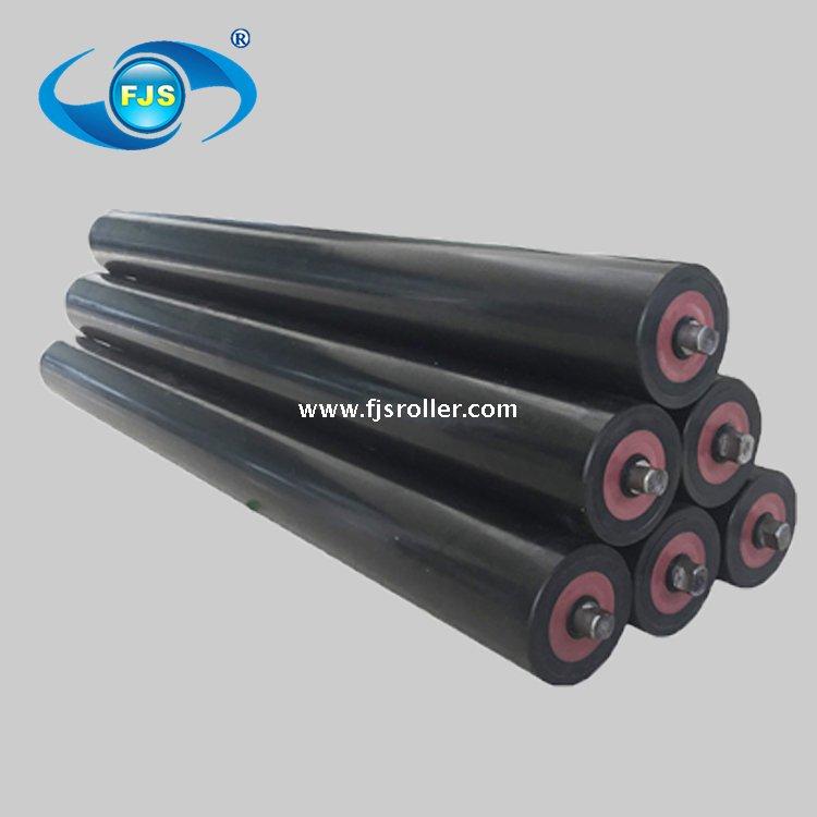 Equipment parts UHMWPE belt conveyor idler roller, plastic