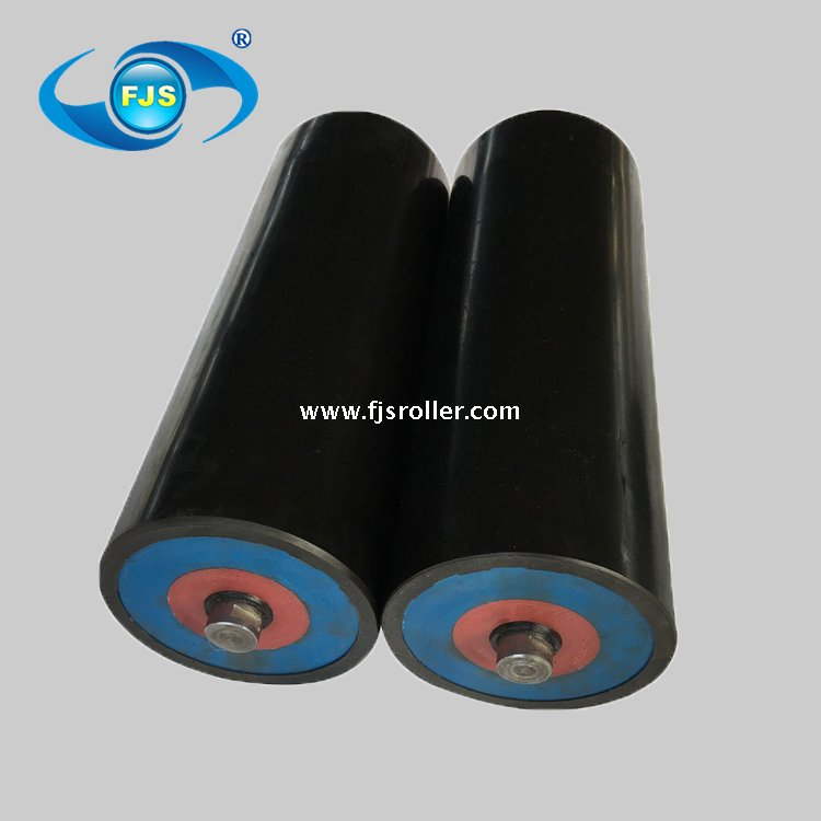 CEMA standard industrial carrying idler steel tube conveyor roller idler
