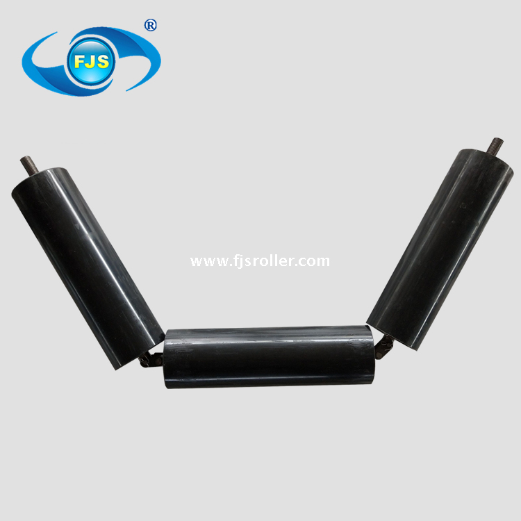 high quality good price UHMWPE HDPE belt conveyor idler roller for conveying machines