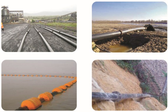 UHMWPE PIPE APPLICATIONS